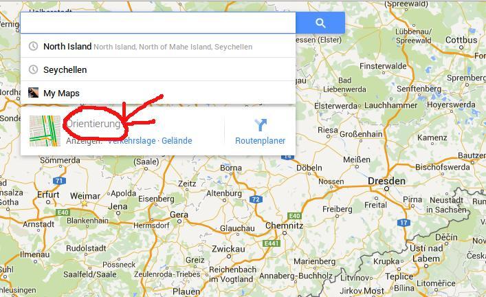 Google Maps | Orientierung