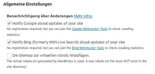 Abschied vom Google XML Sitemaps Plugin