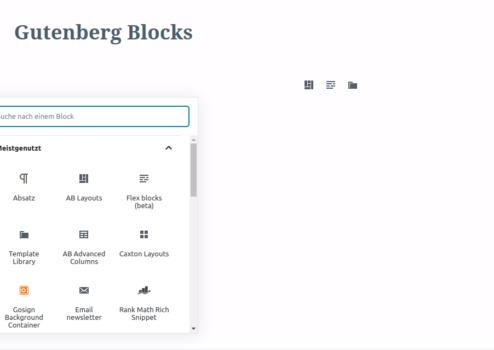 10 kostenlose Premium-Erweiterungen für den WordPress Gutenberg Editor