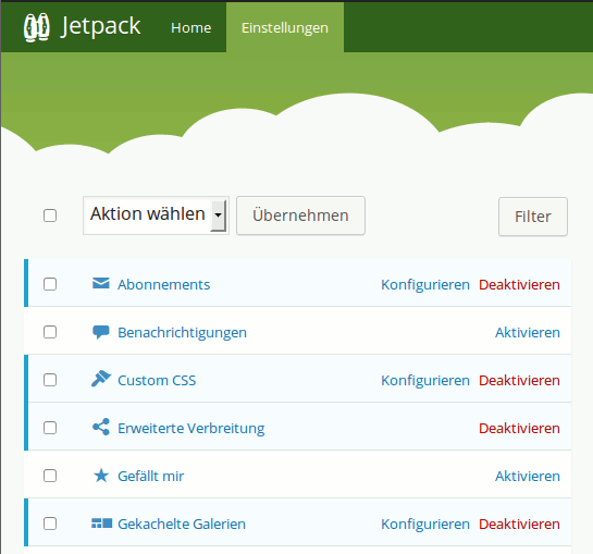 Jetpack: Site Verification für Google Webmaster Tools
