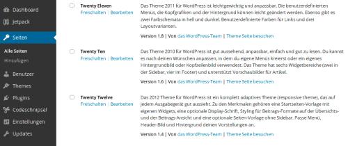 Themes WordPress Multisite