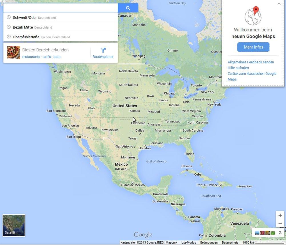Was bringt das neue Google Maps