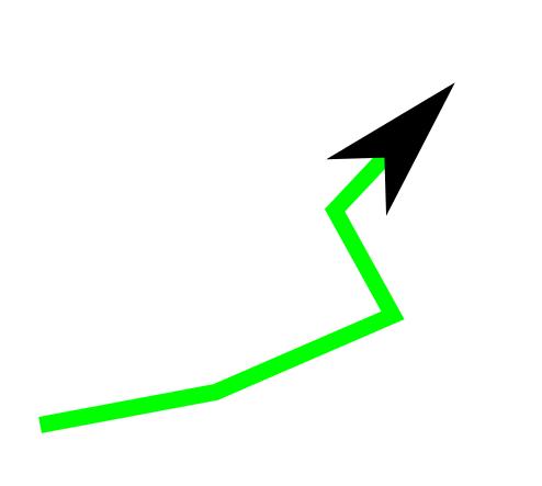Gleiche Farbe für Pfeilspitzen und Linien in Inkscape