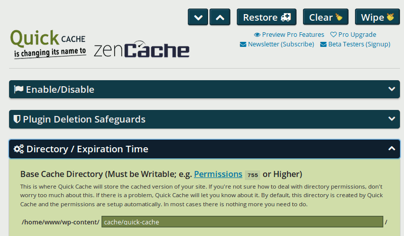 Die Top Cache Plugins für WordPress
