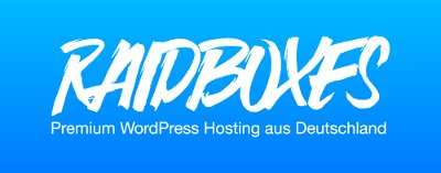 Managed WordPress mit Raidboxes