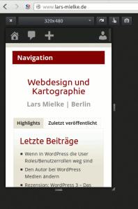 responsive Design Test Firefox