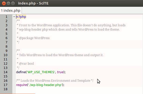 SciTE – ein kleiner und kostenloser Texteditor