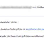 Methoden der Site Verification / Google Webmaster Tools