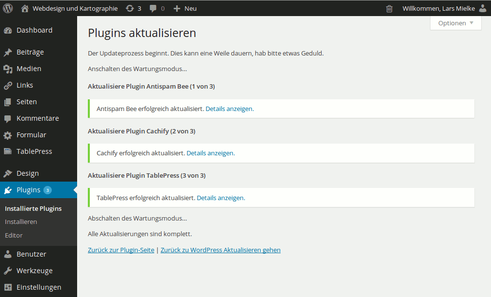 WordPress 3.8 ist da