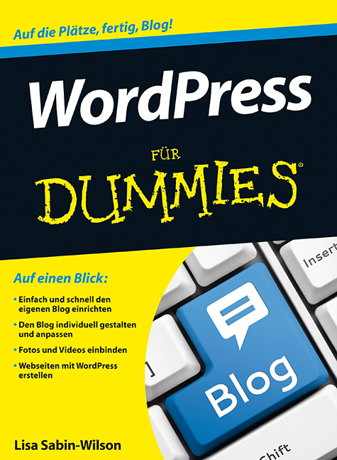 WordPress für Dummies Cover