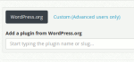 Plugin Suche in WP Core