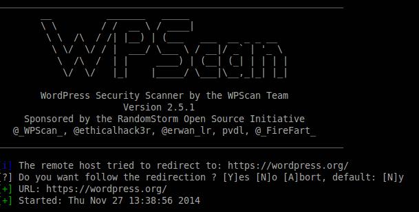 Mit WPScan WordPress auf Schwachstellen scannen