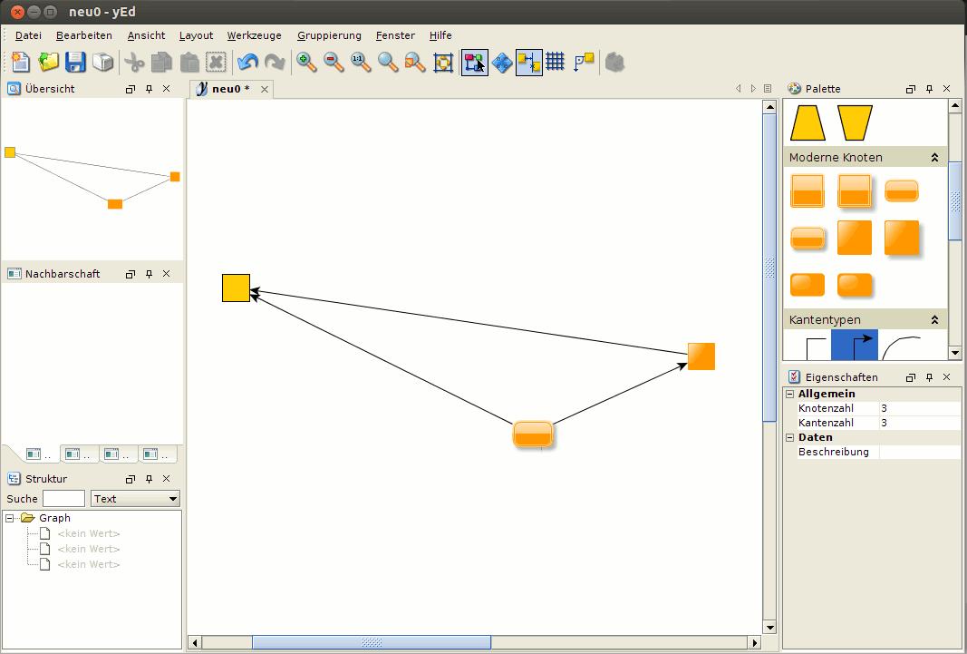 yEd Diagramm Editor auf Ubuntu installieren